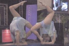 acro balance artsist (arch sky)