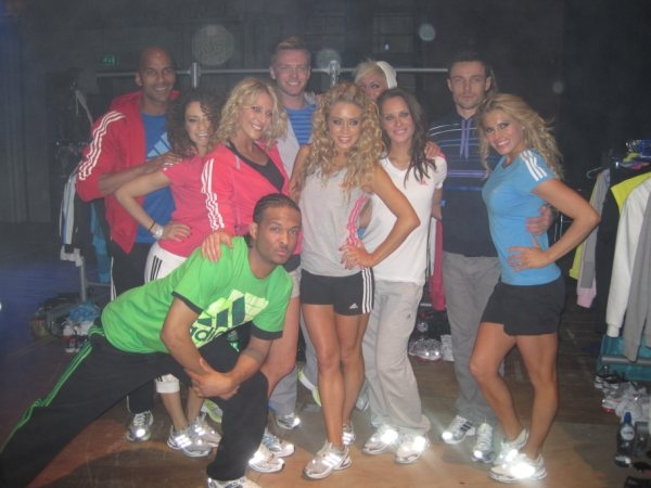 Event models booked for adidas