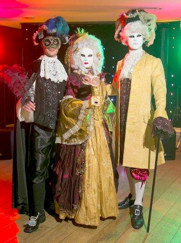 masquerade walkabout characters