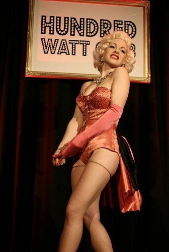 Monroe Burlesque Dancer