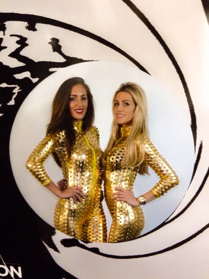 Gold bond girls