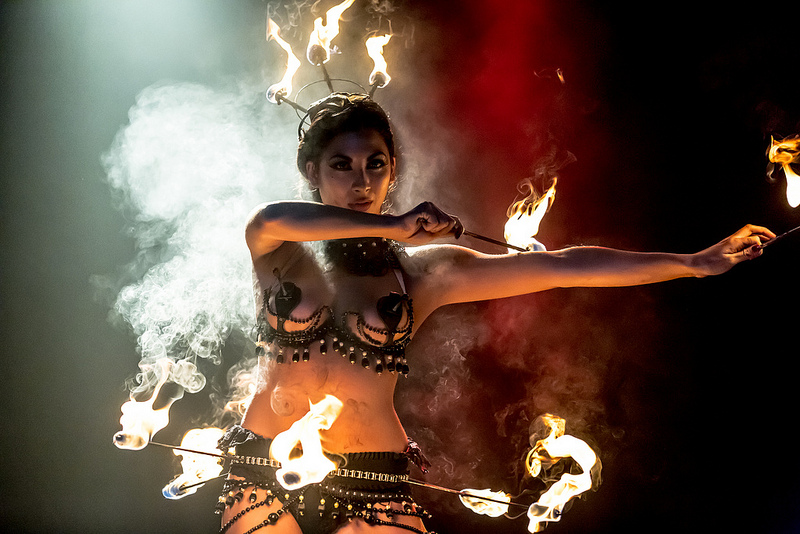 fire performers for ambient sets and showstopping stage acts