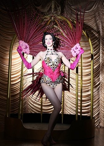 Casino Burlesque Dancer
