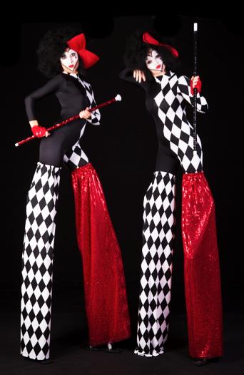 circus stilts gemma
