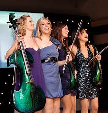 Electric string quartet for hire