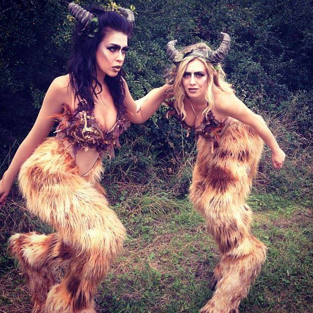 Mythical fawns