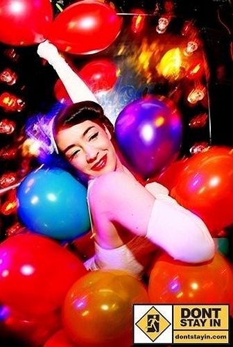 Balloon Burlesque Act