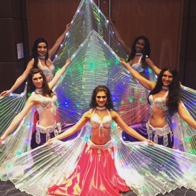 led belly dancer troupe