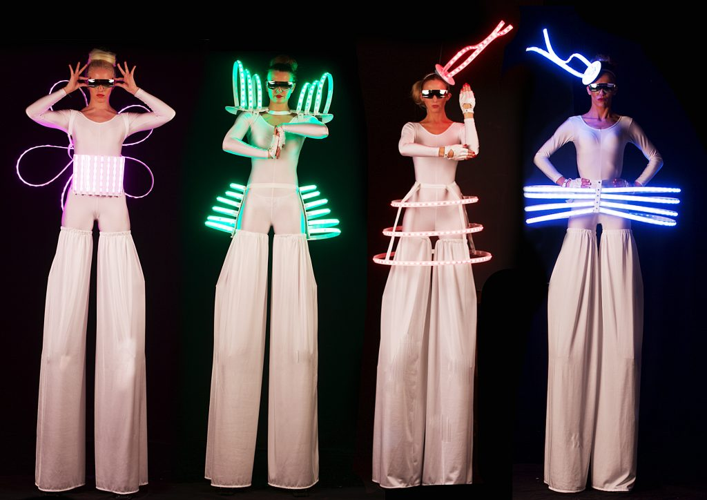 LED stiltr walkers