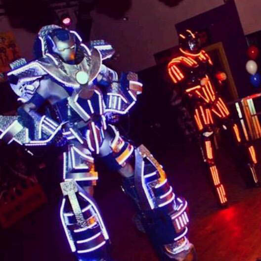 Max our super LED robot