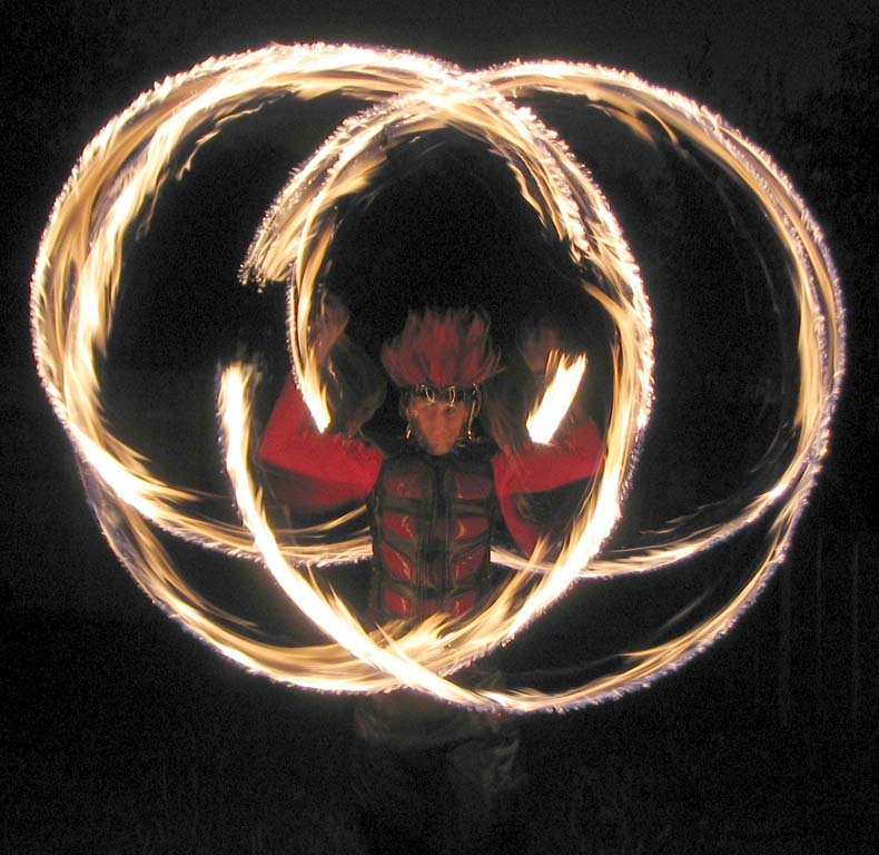 experienced fire performers