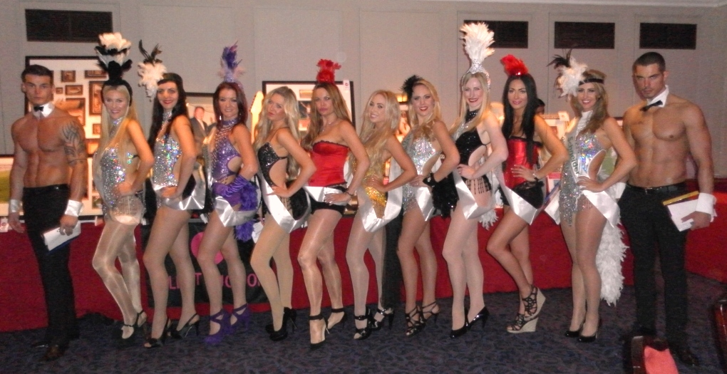 Event showgirls to assist for a large charity event at The Grovesnor hotel collecting charity bids and helping with the auctions