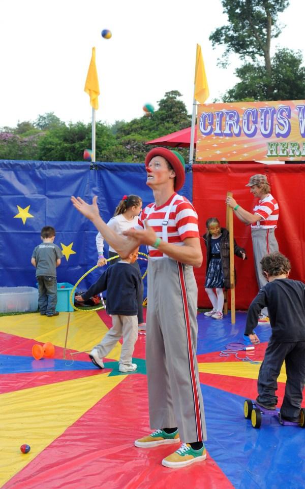 zaz circus workshop ..