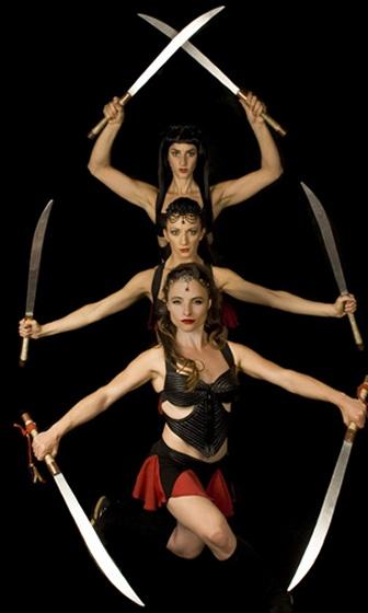 Blades dancers