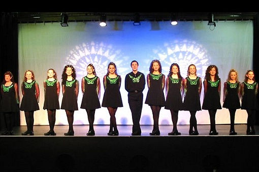 Irish dance troupe