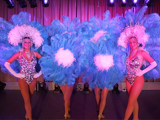 Showgirls dance act
