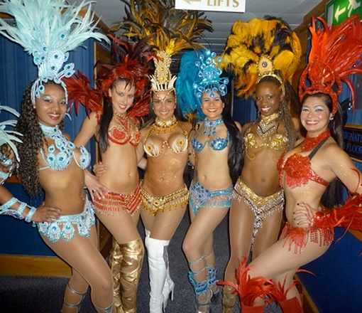 Dancers from Brazil