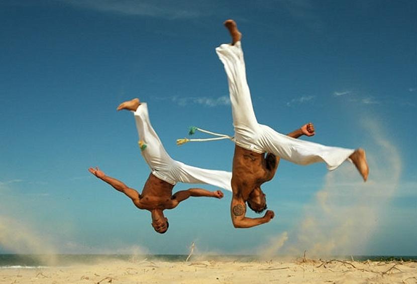 Acrobatic dancers