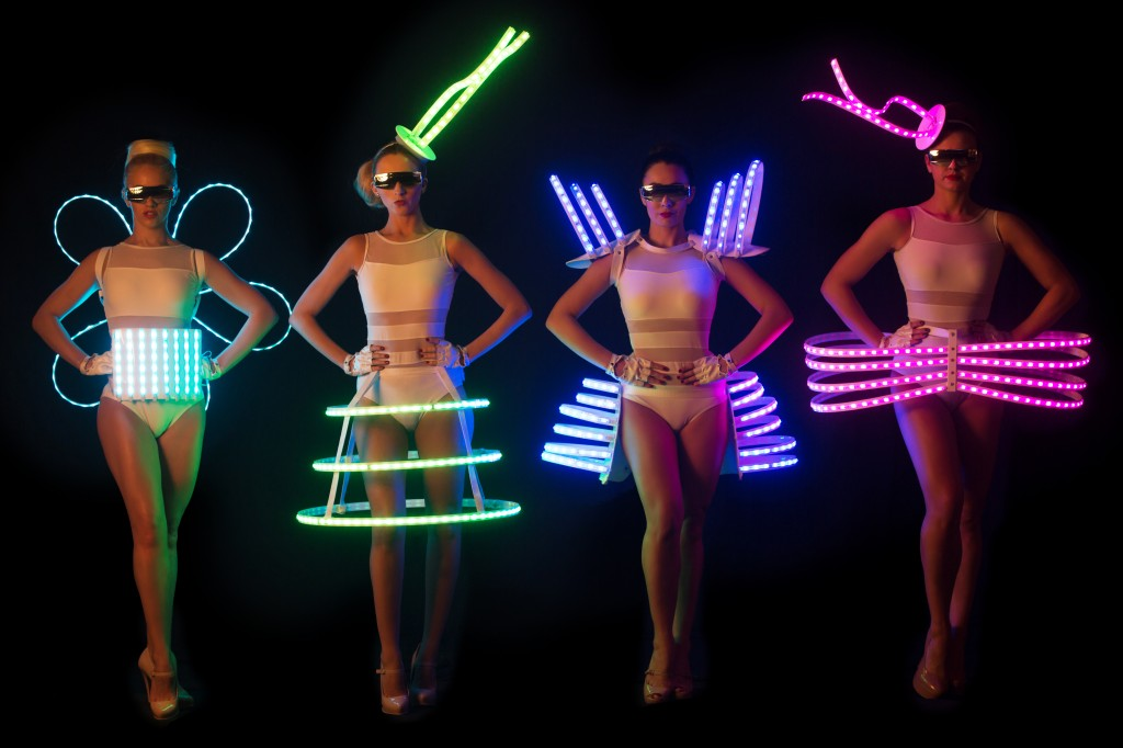 LED DANCERS AND LED HOSTESSES