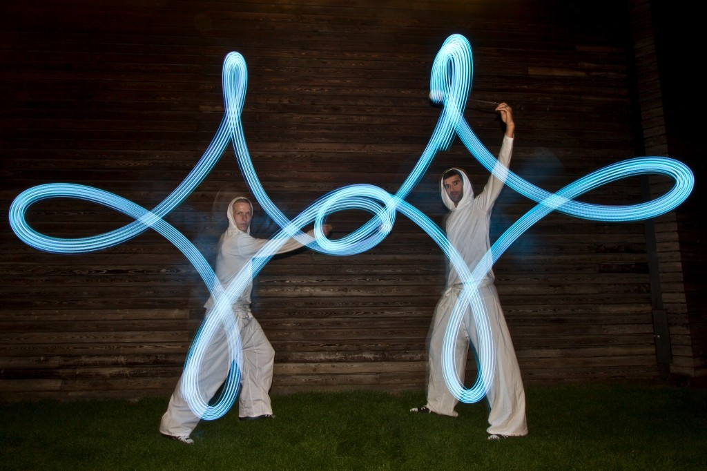 led dancers for outdoor and indoor events and parties