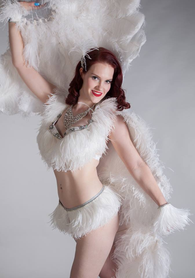 Winter themed burlesque shows