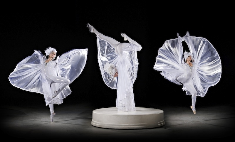 crystaline dance act