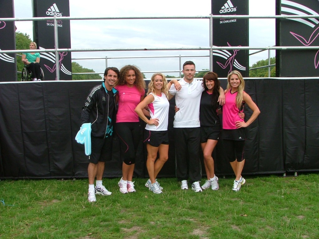 Dancers supplied to promote Adidas at a fun run