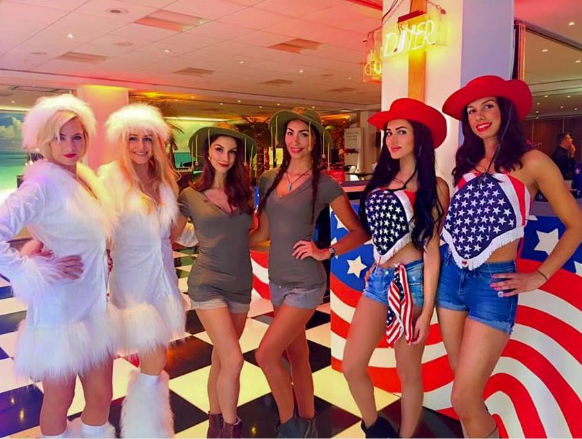 event hostesses