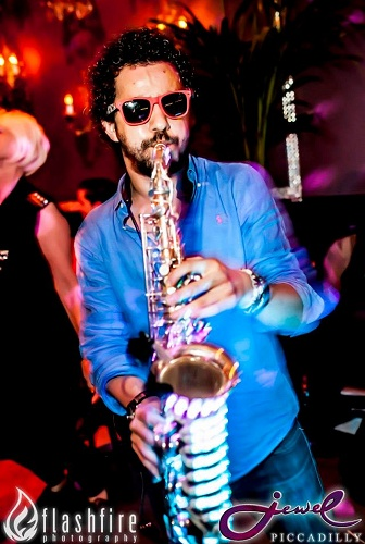 Saxophone player for hire