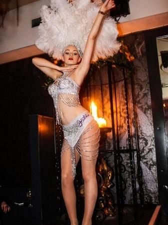 Burlesque Club Dancer