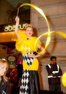 circus style stilt walkers london based