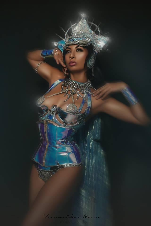 Unique LED burlesque act