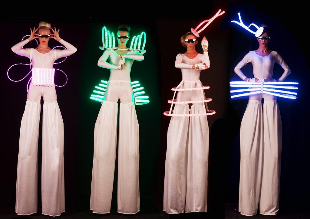 LED stiltr walkers