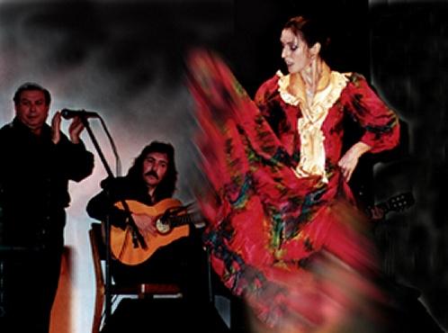 Flamenco dance act