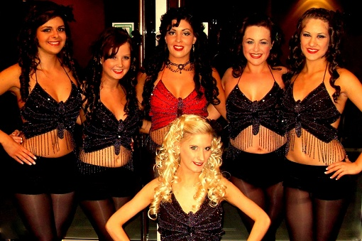 Irish dance troupe