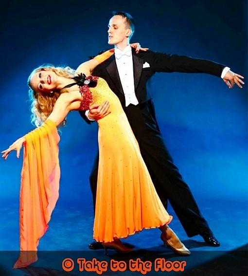 Ballroom dance act