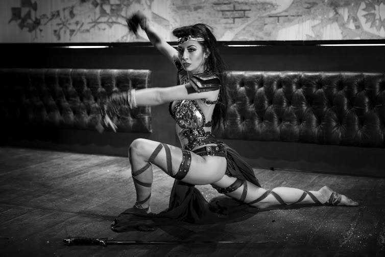 Elegant Sword burlesque
