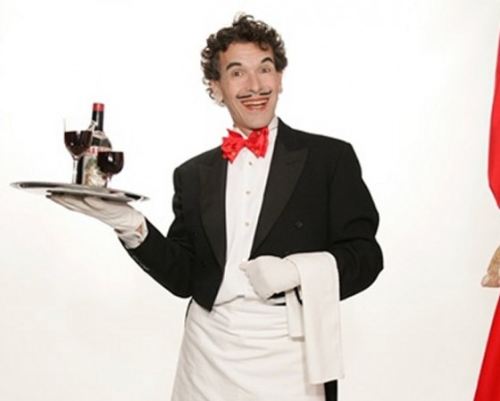 Comedy & magical waiters