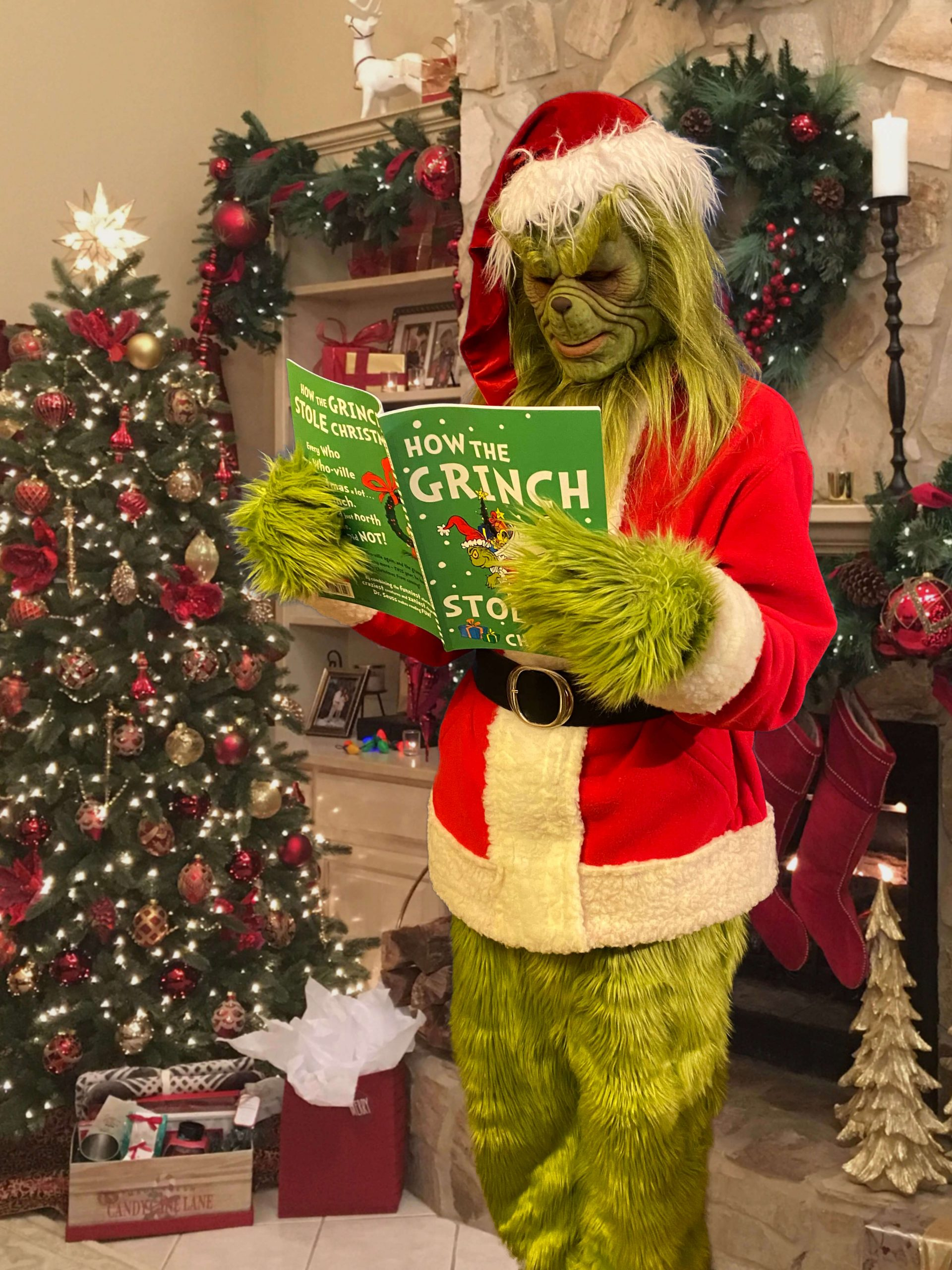Grinch Walkabout