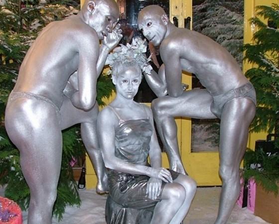 Human Statues