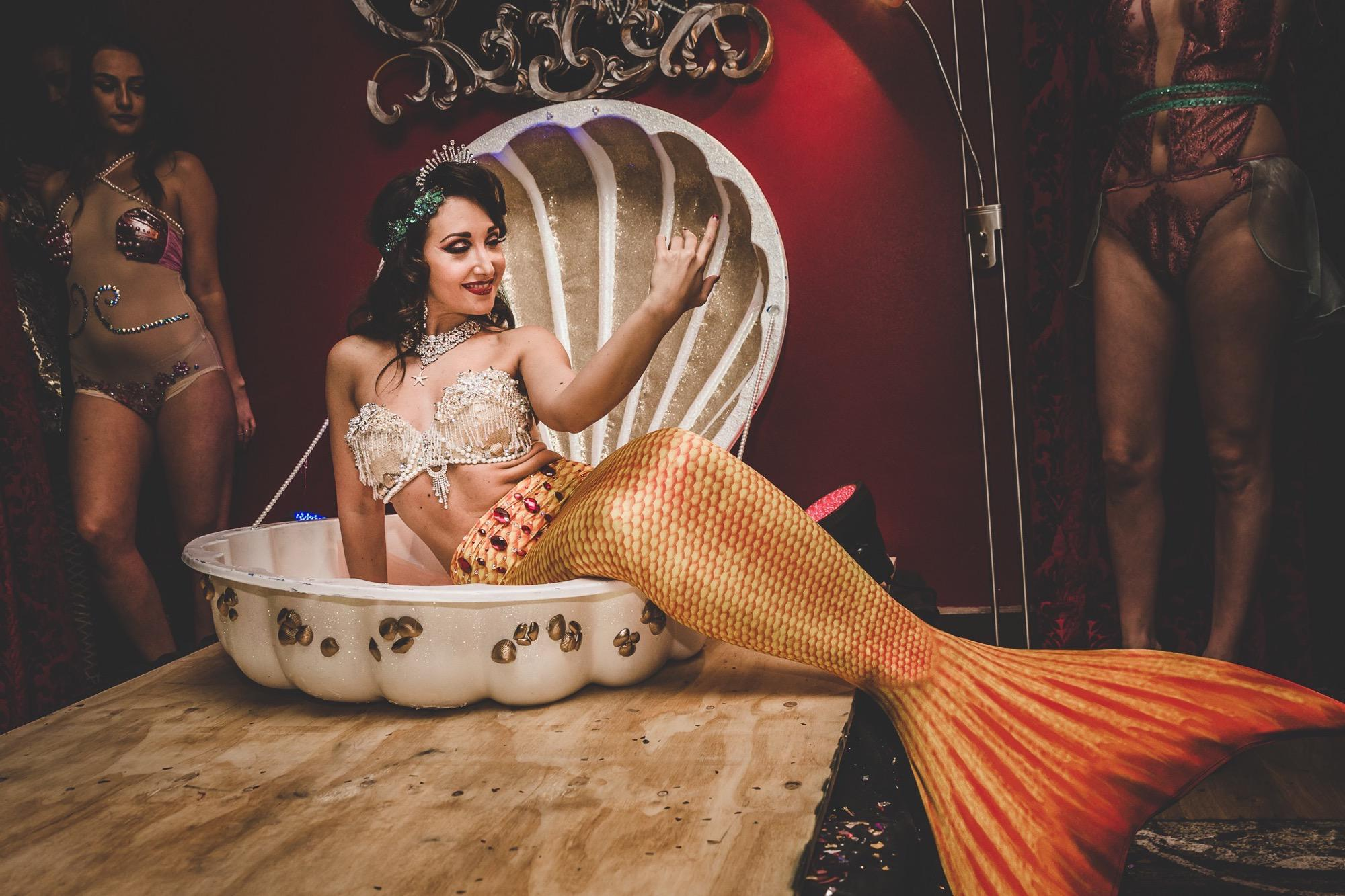 mermaid burlesque