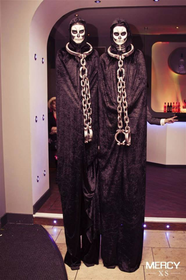 grim reaper stilts halloween