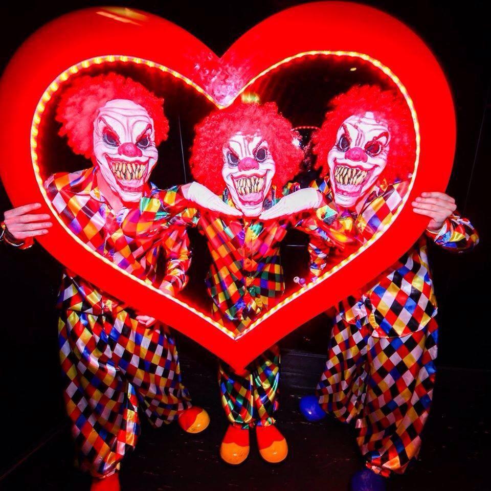 clown halloween fram LED