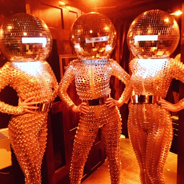 Disco ball heads