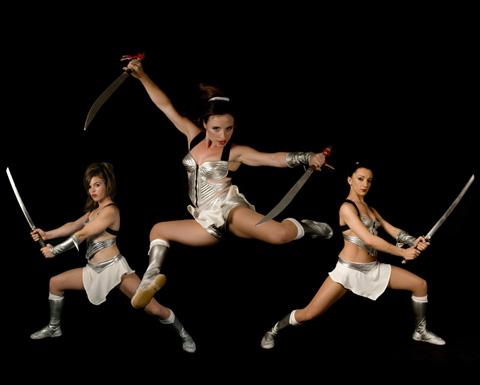 sword dance show