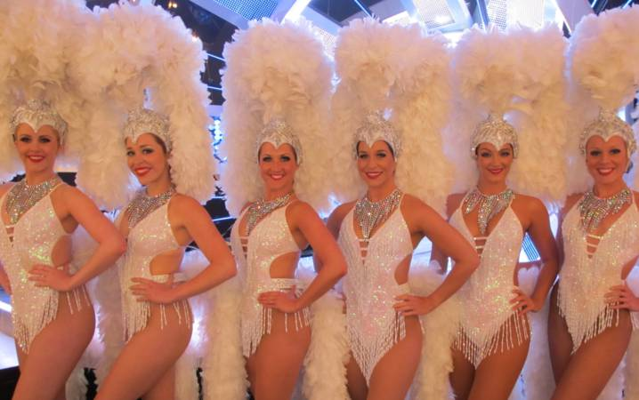 white showgirls