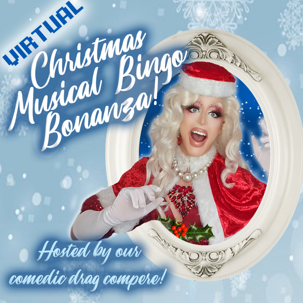 Christmas virtual Bingo party